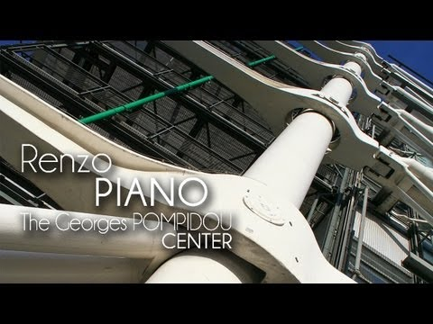 Renzo PIANO & Richard ROGERS - The Georges POMPIDOU Center