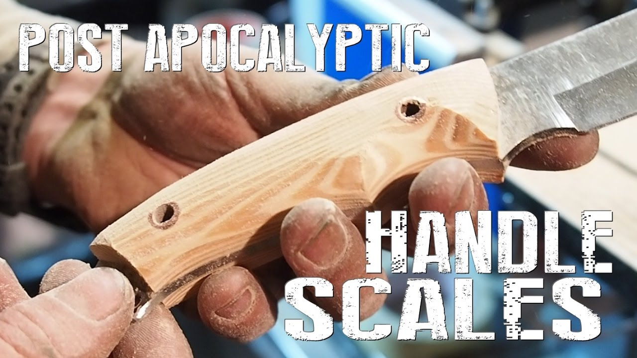 How To Make Handle Scales For A Knife - The Easy Way