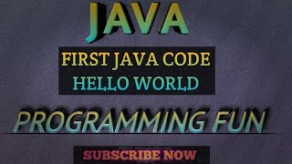 """FIRST JAVA CODE....PRINT """"HELLO WORLD"""" IN JAVA USING ECLIPSE"""
