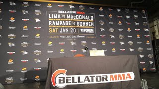 BELLATOR 192 POST FIGHT PRESS CONFERENCE LIVE!!! CHAEL SONNEN, RAMPAGE JACKSON, & MORE