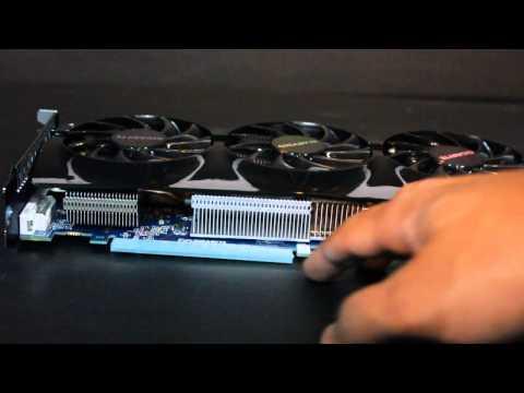 Gigabyte AMD HD 7950 3GB GV-R795WF3-3GD Windforce Cooler Graphics Card Unboxing
