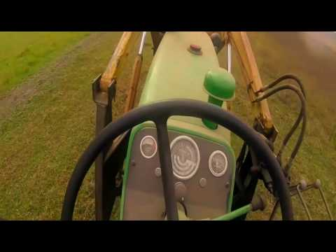 Tour of my farm + tractor driving