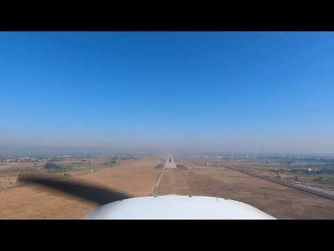 Pilot View: Landing At Sialkot International Airport (OPST / RWY 04)