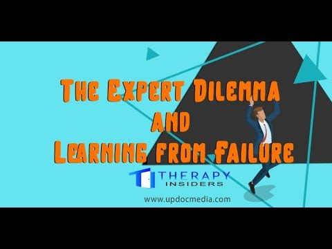 Therapy Insiders: The Expert Dilemma and Learning from Failure