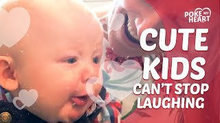 Cute Kids That Can't Stop Laughing