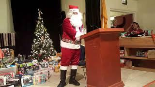 Santa Fe Indian Center Xmas - Native Santa Clip 7