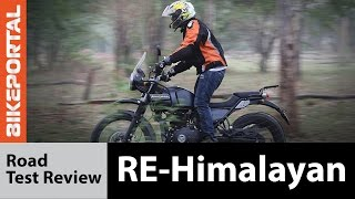 Royal Enfield Himalayan Road Test Review - Bikeportal