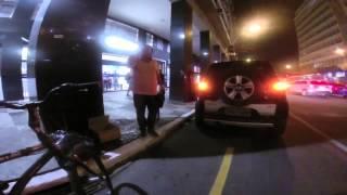 O Dono da Rua - Ciclofaixa obstruída
