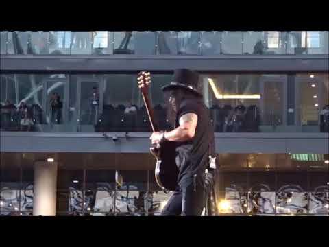 Slash Guitar Solo 2018