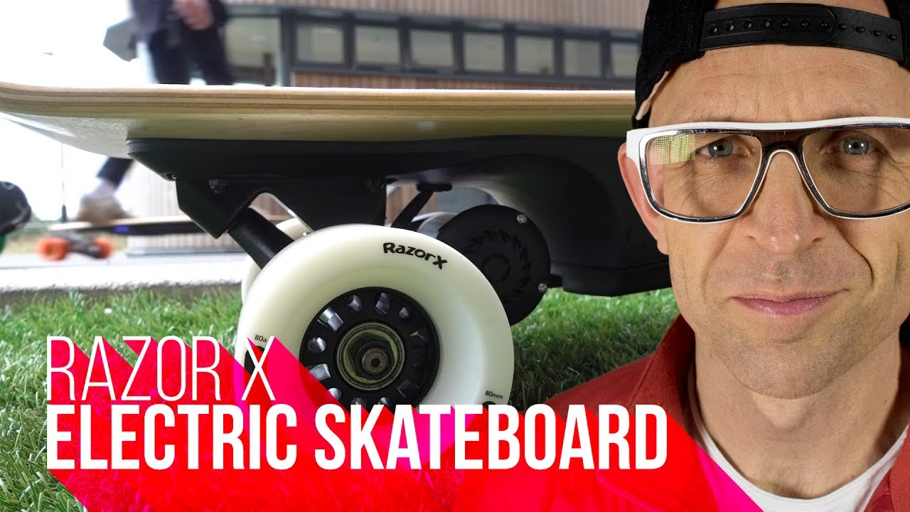 Razor X Cruiser New Kids Electric Skateboard Youtube