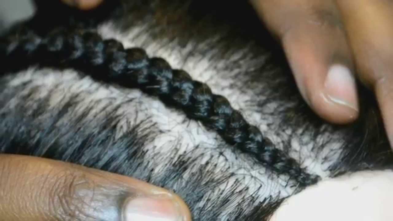 How To Cornrow Using Ghana Braid Technique For Graduated
