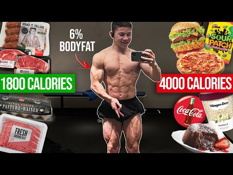 HOW I GOT TO 6% BODYFAT || Tristyn Lee Full Day of Eating