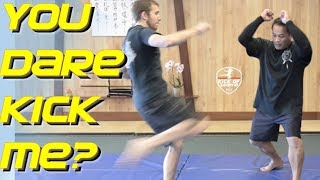 SSBD Silat: Countering the Kick with Maul Mornie