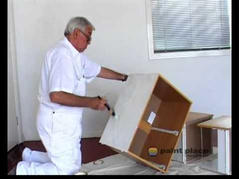 How to Paint a Laminate Surface - YouTube