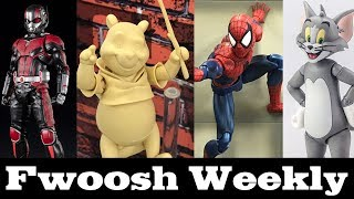 Weekly! Reuploaded! S.H. Figuarts Galore, Winnie the Pooh, Tom and Jerry, Star Wars, and more!