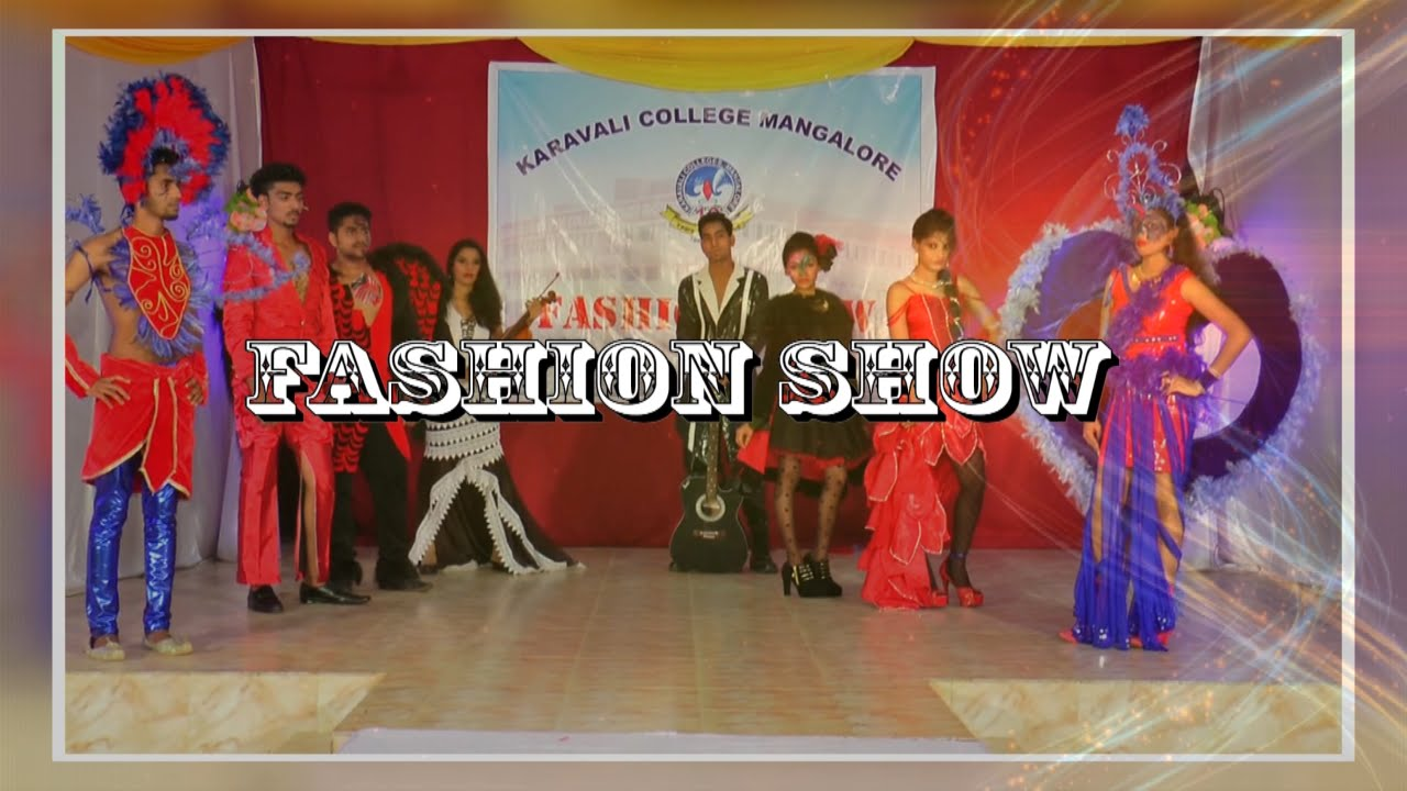 Karavali College Fashion Show Part 004 Youtube