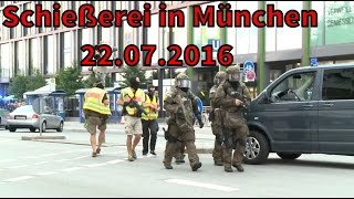 AMOKLAUF in München -  (WARNUNG VIDEOMATERIAL)