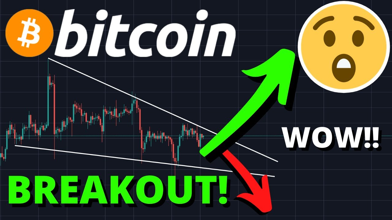 BITCOIN BREAKOUT NOW FROM THIS DESCENDING WEDGE! The Next Price Target Will SHOCK You!!