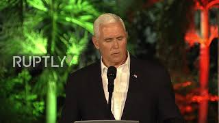 Colombia  Pence defends Trump over Charlottesville; says US 'will not stand' by on Venezuela