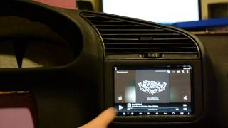 BMW e36 Tablet installation