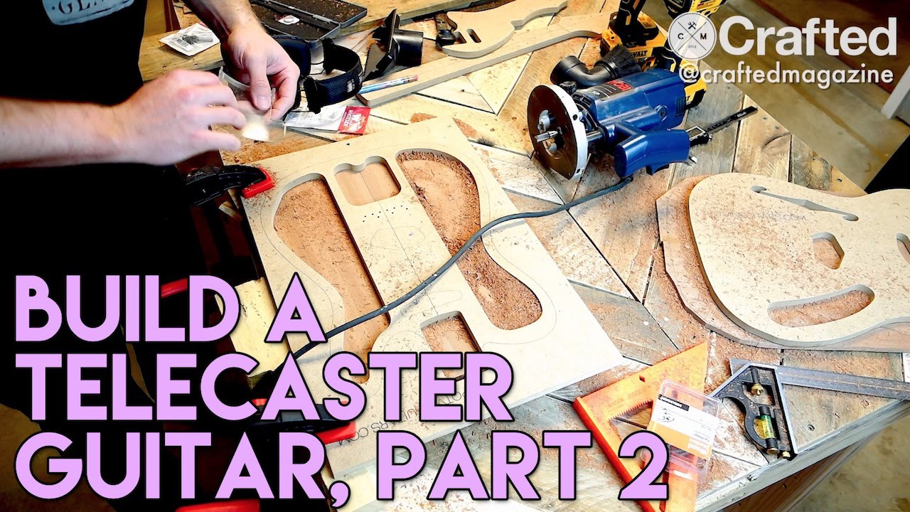 Diy Guitar Telecaster Build Series Part 1 Crafted Workshop Youtube