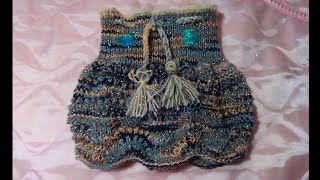 Вязание спицами юбки (юбочки) на девочку 2,5-3 года