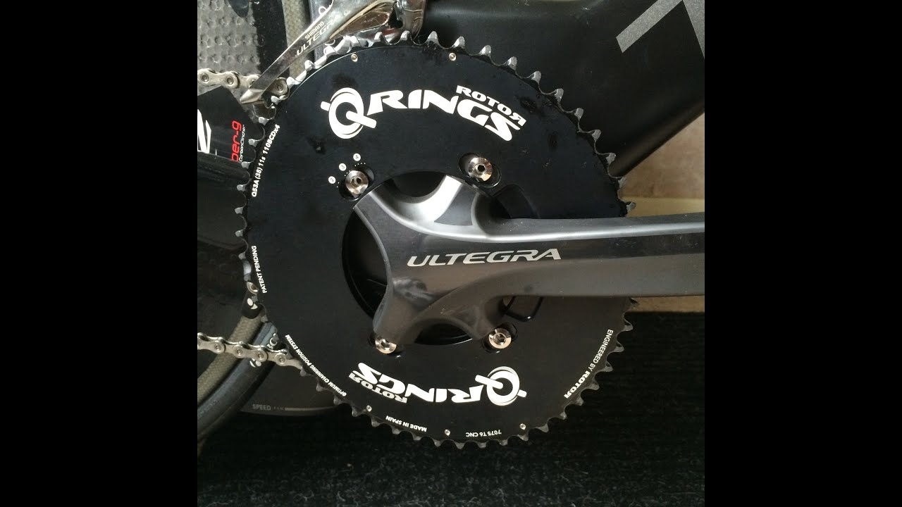 ROTOR NOQ rings Round rings Aero Road Chainring SET 110BCD x 5arm