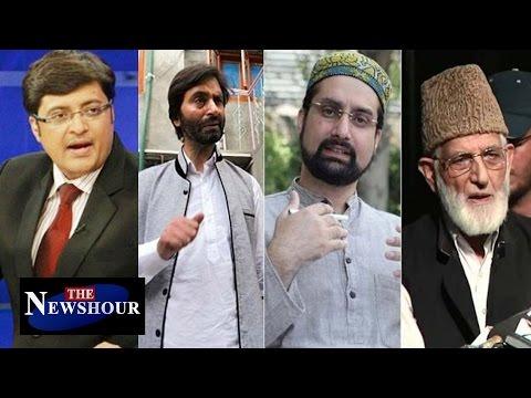Kashmir Unrest: Separatists Against Peace Talks?: The Newshour Debate (4th Sep 2016)