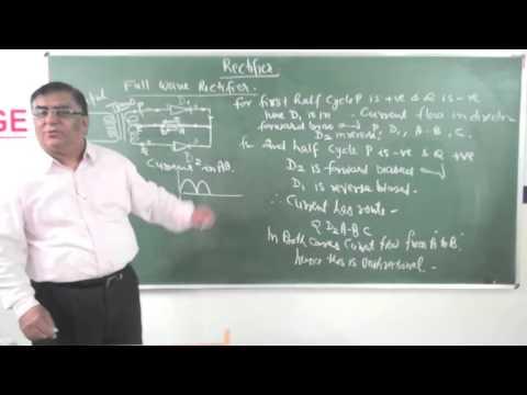 XII-12-3.Rectifier(2014) Pradeep Kshetrapal Physics