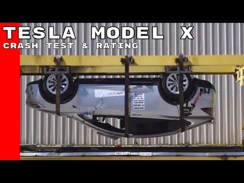 Tesla Model X Crash Test & Rating