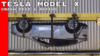 Tesla Model X Crash Test & Rating