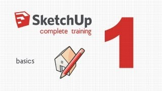 SketchUp complete training. Lesson 1. Set-up and create basic shapes(First video tutorial explaining SketchUp basics. Learn to draw simple 3D objects, move around your scene and at the end of the lesson create your first basic ..., 2013-02-22T02:46:43.000Z)