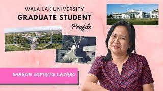 Sharon Espiritu Lazaro | Ph.D. in Chemistry | Walailak University