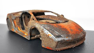 Restoration Abandoned Lamborghini Gallardo Model Car