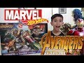 Unboxing Mainan MARVEL AVENGERS INFINITY WAR: Avengers VS Thanos Review! Toys | Buka Hot Wheels