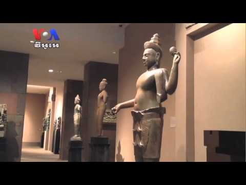 Statue Case Against Sotheby's Draws in California Museum (Cambodia news in Khmer)
