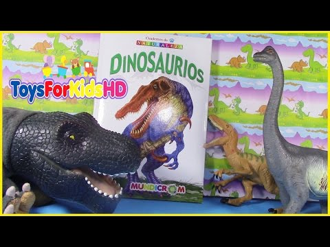 Libros de dinosaurios para niños  DIPLODOCUS - Vídeos de dinosaurios para niños ToysForKidsHD