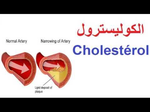 الكوليسترول    Cholestérol