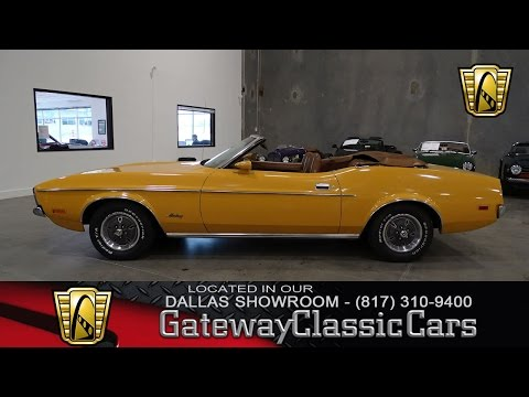 1971 Ford Mustang Convertible #429-DFW Gateway Classic Cars of Dallas
