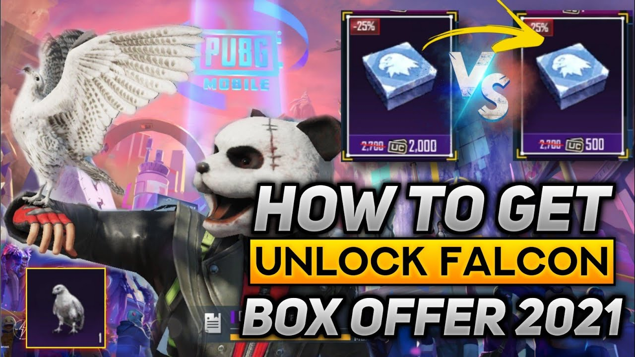Download How To Get Free Falcon || Pubg Falcon Unlock Free || Get Falcon in 500 UC || Pubg Falcon Unlock Free