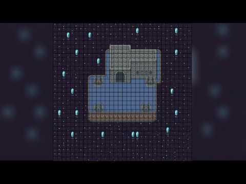 2D World Creator - Dark World Timelapse