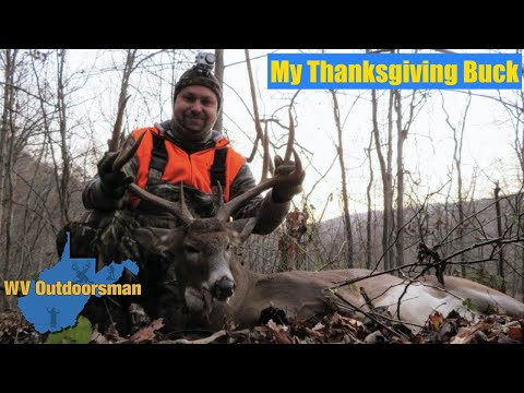 WV Deer Hunt Thanksgiving Buck