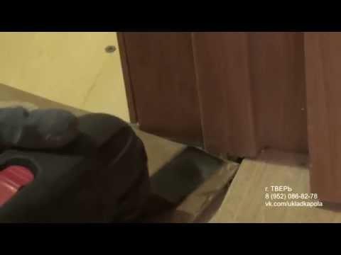 Подпиливаем дверную коробку и наличники GOP 10,8
