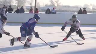 Первый зональный тур 4-го первенства Омской области по хоккею среди дворовых команд «Омские орлята»