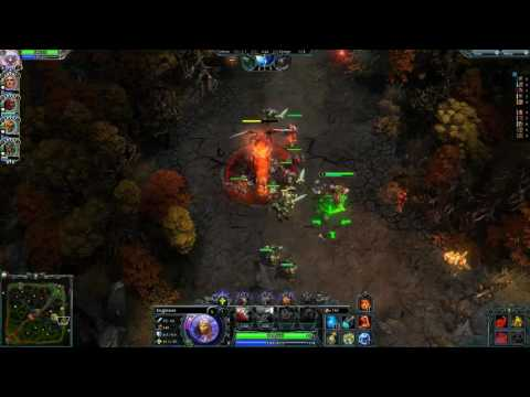 Heroes(Champion) Of Newerth(Season Normal - Rank SILVER) - Engineer (Player : `ToBeThatDay)