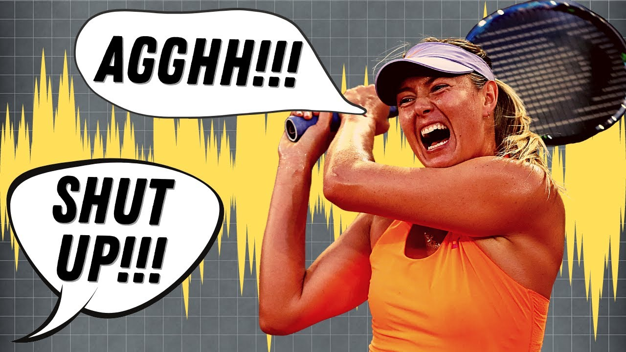 The TRUTH behind Obnoxious Tennis Grunting