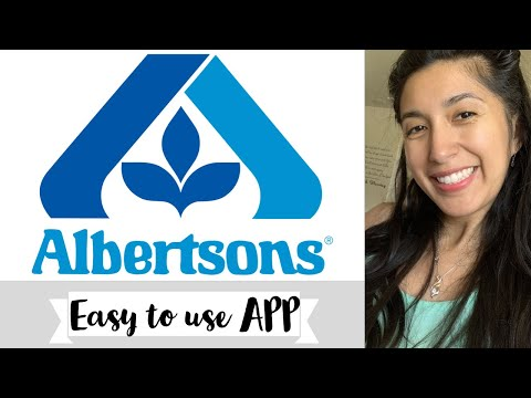Albertson's | Vons | APP TUTORIAL 📱 Just4u