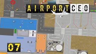 Airport CEO | Taxiway Chaos ► #7 Flughafen Bau Management Simulation deutsch german