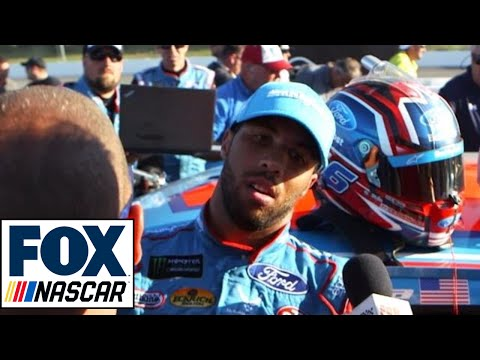 Bubba Wallace Passes Out After Cup Debut | NASCAR RACE HUB