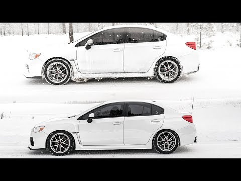 Lowering the 2016 Subaru WRX!